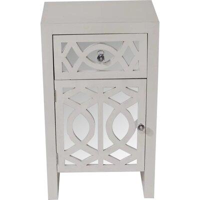 Accent Cabinet Color: White