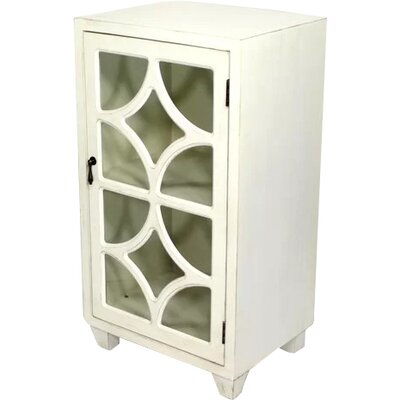 Wooden Accent Cabinet with 1 Door