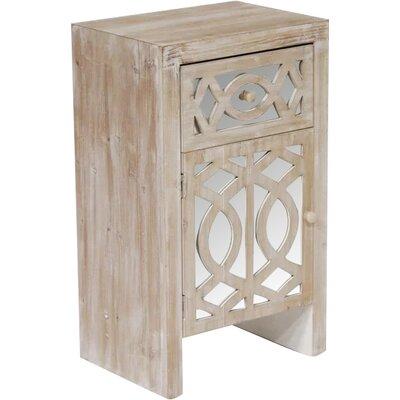 Accent Cabinet Color: White Wash