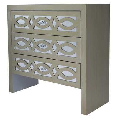 Tanner 3 Drawer Accent Chest