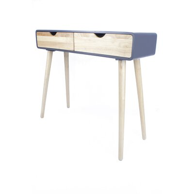 Euro Console Table Color: Graphite
