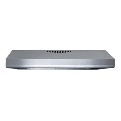 "30"" Brillia 400 CFM Ducted Under Cabinet Range Hood"