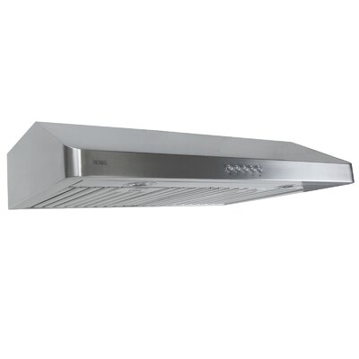 "30"" 400 CFM Ducted Under Cabinet Range Hood"