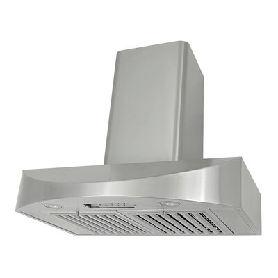 "36"" Brillia 650 CFM Ducted Wall Mount Range Hood"