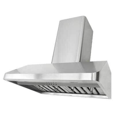 "30"" Brillia 680 CFM Ducted Wall Mount Range Hood"