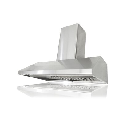 "36"" Brillia 680 CFM Ducted Wall Mount Range Hood"