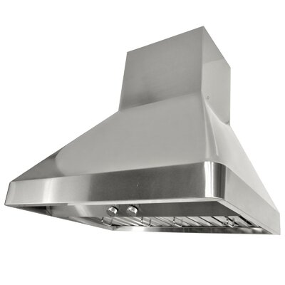 "30"" Brillia 760 CFM Ducted Wall Mount Range Hood"