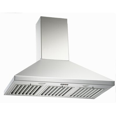 "36"" Brillia 750 CFM Ducted Wall Mount Range Hood"