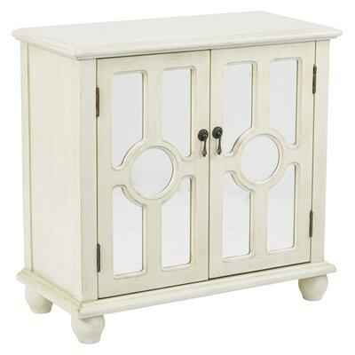 Eladia Storage 2 Door Accent Cabinet Color: Antique Beige