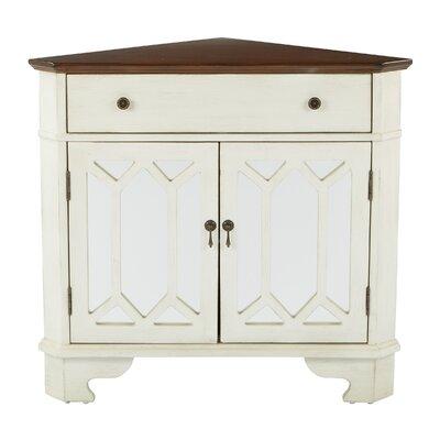 Hardyston Corner Storage 1 Drawer 2 Door Accent Cabinet Color: Beige