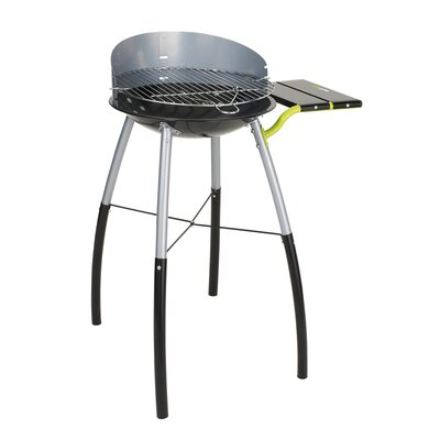 cook in garden Tondino Charcoal Barbecue with Side Shelf