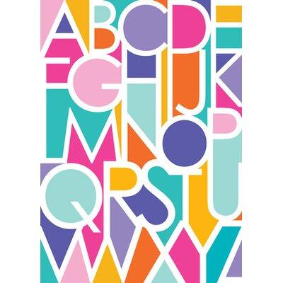 """Negative Space Letters Canvas Art Size: 14"""" H x 10"""" W x 1.5"""" D"""