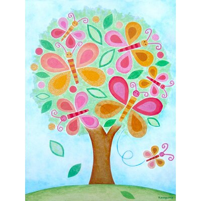 Butterfly Tree Canvas Art