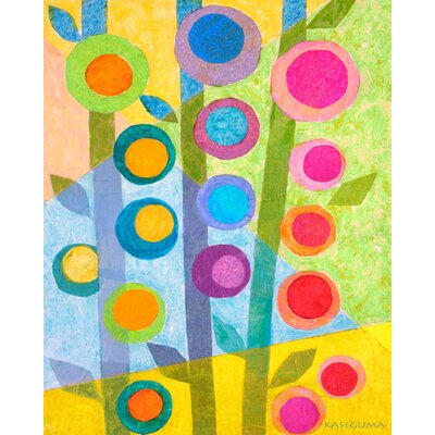Flower Stalks Canvas Art