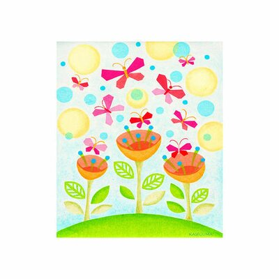 Flower Party Canvas Art