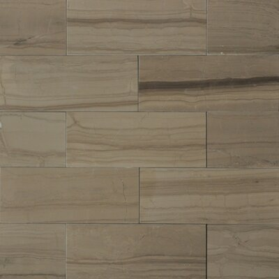 "3"" x 8"" Marble Wood Tile in Yves Rocard"