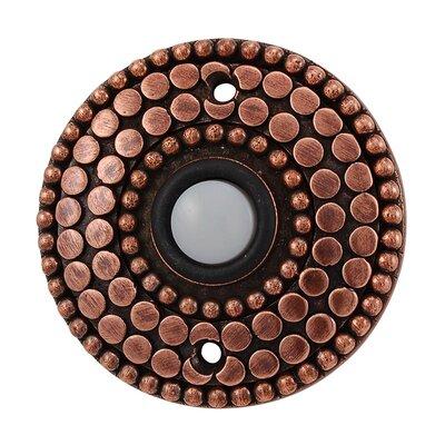 Tiziano Doorbell Finish: Antique Copper