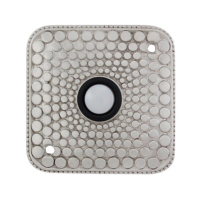 Tiziano Doorbell Finish: Satin Nickel