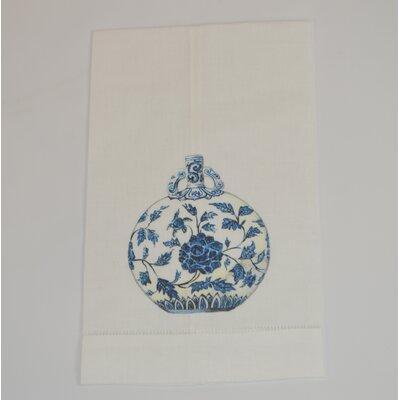 Hemstitched Jar Linen Hand Towel (Set of 2)