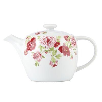 Kathy Ireland by Gorham Blossoming Rose 32 Oz. Teapot
