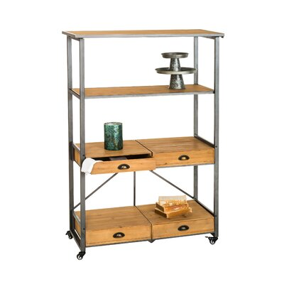Dovenby Foldable Etagere Bookcase