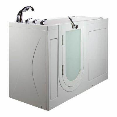 """Lounger 59"""" x 26.75"""" Walk in Bathtub"""