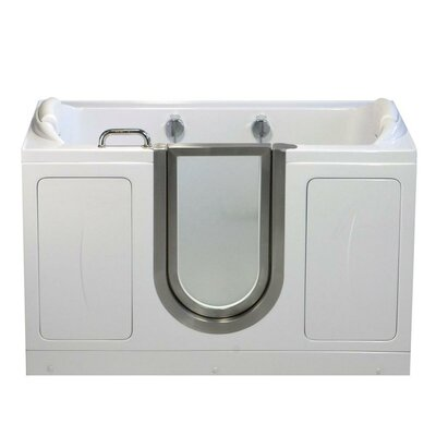 "Companion 60"" x 30"" Massage Whirlpool Walk In Tub"