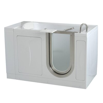"52"" x 32"" Royal Soaking Walk In Tub Door and Drain Location: Right"