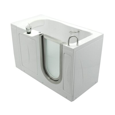 "52"" x 32"" Royal Soaking Walk In Tub Door and Drain Location: Left"
