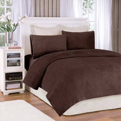 Dunmore 277 Thread Count Sheet Set Size: King, Color: Brown