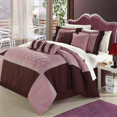 Chic Home Quincy Rose 8 Piece Comforter Set