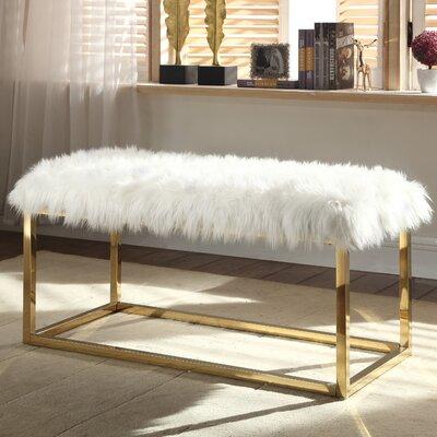 Bostrom Upholstered Bench Upholstery: Beige