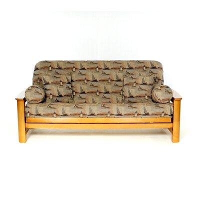 Nantucket Box Cushion Futon Slipcover