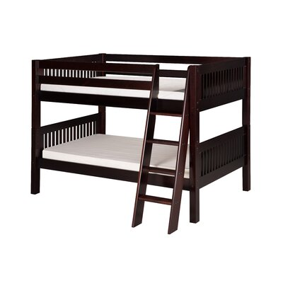 Goad Twin over Twin Bunk Bed Bed Frame Color: Cappuccino