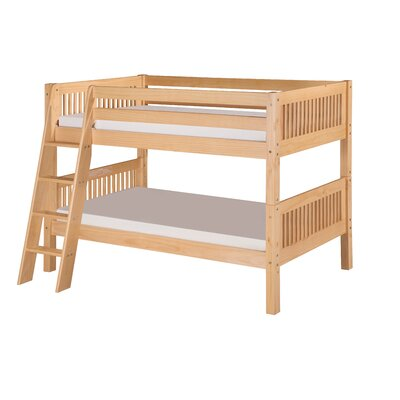 Goad Twin over Twin Bunk Bed Bed Frame Color: Natural