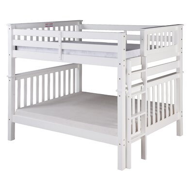 Santa Fe Bunk Bed Color: White, Size: Twin Over Full