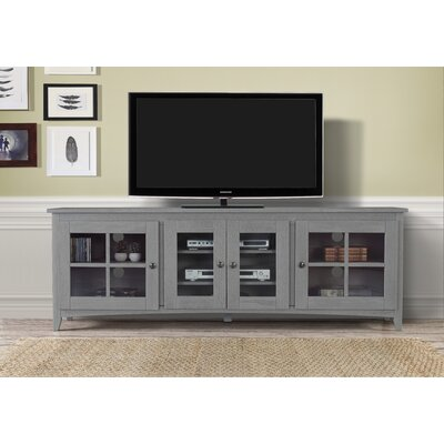 """Tesfai 60""""-70"""" TV Stand Color: Gray, Width of TV Stand: 70"""""""