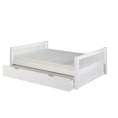 Delaware Full Platform Bed with Trundle