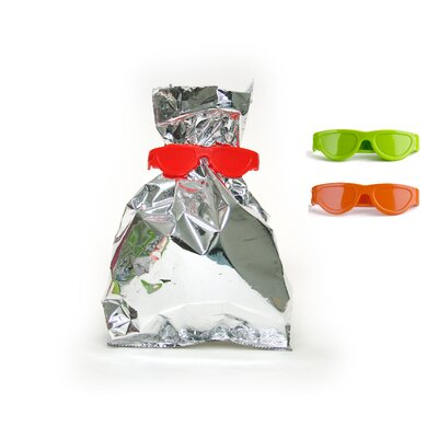 Qualy Bag Glasses Snack Keeper