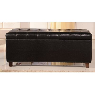 Classic Storage Bench Color: Black