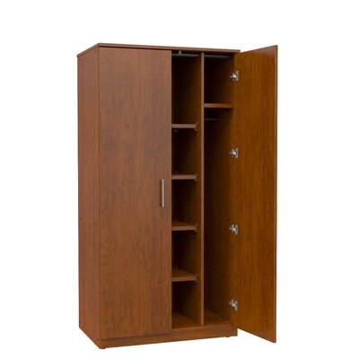 Mobile CaseGoods Storage Cabinet Frame Color: Fusion Maple