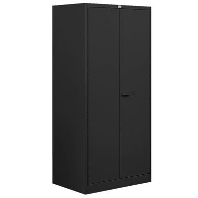 2 Door Storage Cabinet Color: Blue