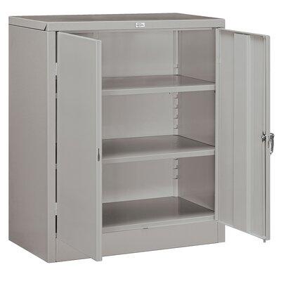 """42""""H x 36""""W x 18""""D 2 Door Storage Cabinet Color: Gray"""