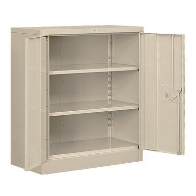 Heavy Duty 2 Door Storage Cabinet Color: Tan