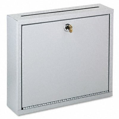 Buddy Products Interoffice Steel 1 Unit Drop Box