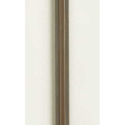 """Two Circuit MonoRail Hardware Straight Rail Size / Finish / Insulator Color: 24""""/Satin Nickel with Clear Insulator"""