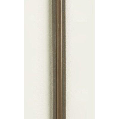 "Two Circuit MonoRail Hardware Straight Rail Size / Finish / Insulator Color: 48""/Antique Bronze Clear Insulator"