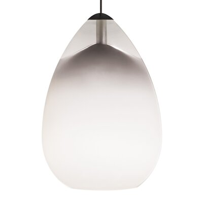 Alina 1 Light Track Pendant Finish: Antique Bronze, Shade Color: White, Mounting Type: 2 Circuit Monorail