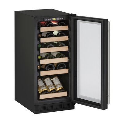 24 Bottle 1000 Series Reversible Single Zone Freestanding Wine Cooler
