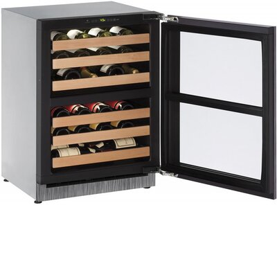 43 Bottle 2000 Series Dual Zone Built-in Wine Cellar